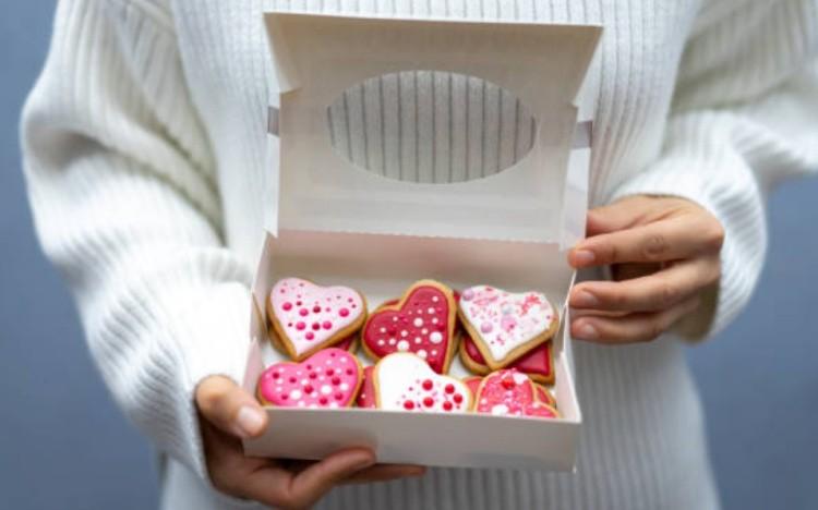 Подарок от мужчины печенье